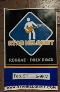 Parker's Grill & Taphouse Auburn NY Ryan Melquist Qwister Reggae